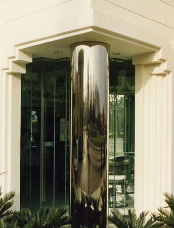 Studio 7 Hair Salon - Column Detail